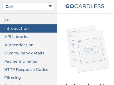 GoCardless API Docs api docs library gocardless