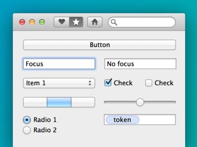 Mavericks UI kit for Sketch ui kit sketch download source osx free