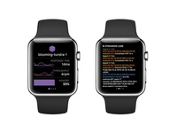 Heroku Watch UI
