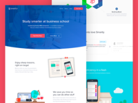 MBA e-Learning Landing Page