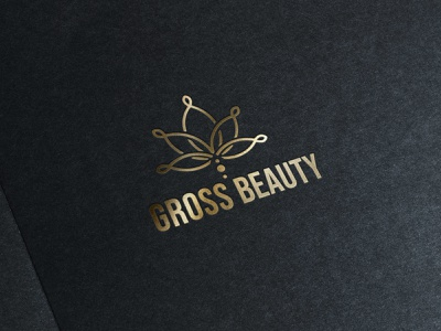 Unrealised - Gross Beauty logo idea logo identity logo design logotype icon vector logo design branding