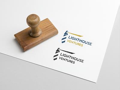 Lighthouse Ventures modern design modern logo vector logo design branding