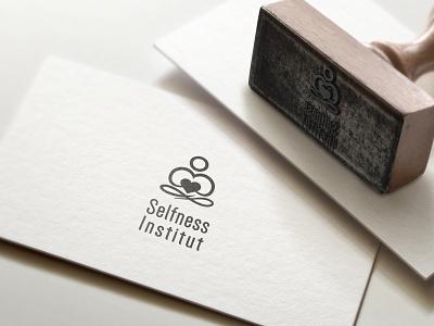 Selfness Institut vector logo design modern design logotype modern logo graphic design logo minimal branding design