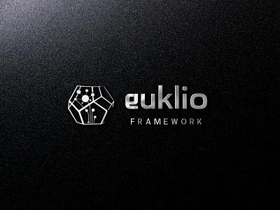 Euklio Framework logo design modern logo icon graphic design vector logo branding design