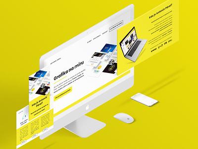 Personal Website Redesign 2 website design webdesigner ui web design ui website web design graphic design branding