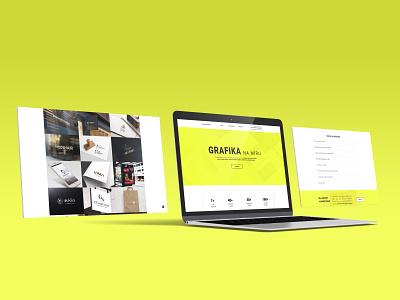Personal Website Redesign 3 antoninparal clean website clean ui modern webdesign webdesign graphic web ui website website branding graphic design ui