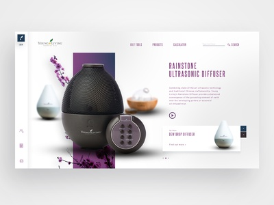 Young Living Homepage