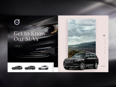 Volvo Product Page