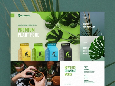 Plant base products homepage