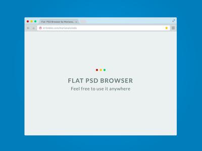 Flat PSD Browser