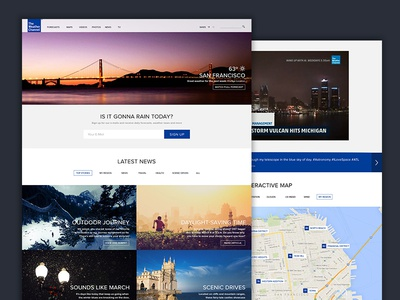 The Weather Channel Redesign