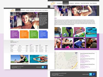 UI Theme for BuzzFeat web design ui