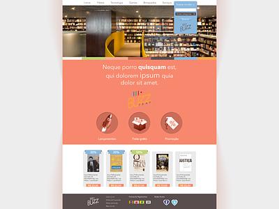 Theme for BuzzFeat web design ui