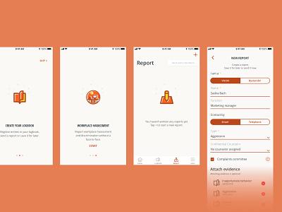 Mobile app - AWH design mobile mobile app app ui