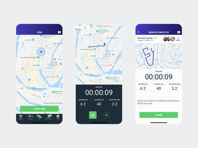 Mobile app - EFDN