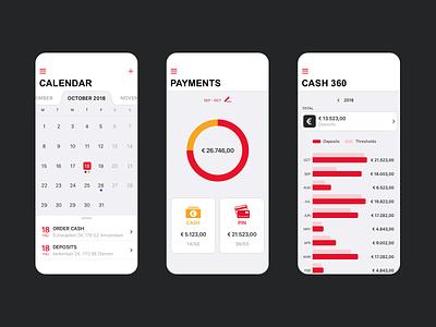 Mobile app - G4S ux app ui design mobile