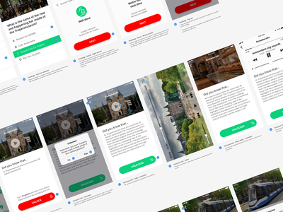 Workflow - Amsterdam Discovery Challenge ux design system design mobile ui workflow