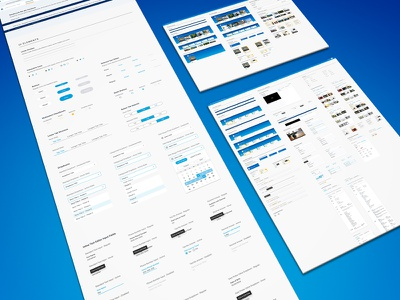 SundaySky SmartVideo Dashboards web app user experience user interface app product web video design ux ui style guide dashboard