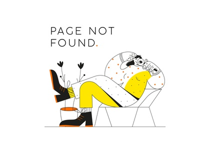 page not found people 2d character flat illustration illustration webdesign ui website characterdesign flat vector