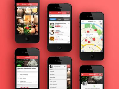 Real Food iOS App