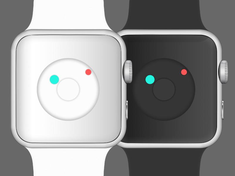 Apple Watch Nixon Inspiration apple watch nixon newton inspiration design ui clock time