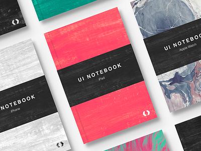 Ui Notebooks macbook watch ipad iphone prototype sketchbook sketch notebook ux ui
