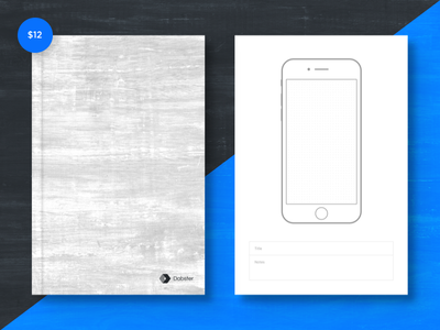 Ui Notebook web mobile draw wireframe app illustration sketchbook sketch design ux ui notebook
