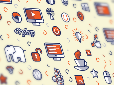 Free pattern vector download illustrator pattern free ai cloud java icon icons freebie texture