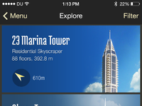 App for tourists in dubai
