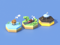 Month of Rebounds / Day 15 / Mini Environments
