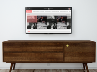 Smart TV app concept