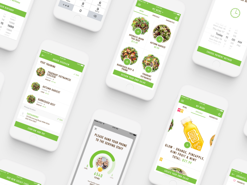 Sumo Salad / Everything ux ui product design design app