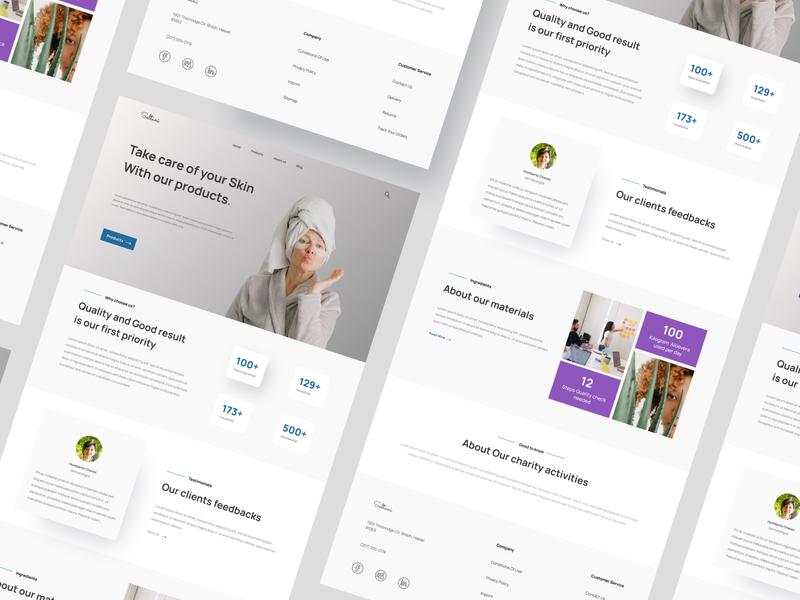 Soltani - Design concept popular figma figma design web design web ux ui typography design art