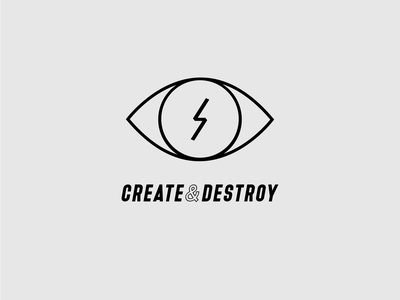 Create Radical minimal icon typography vector design branding