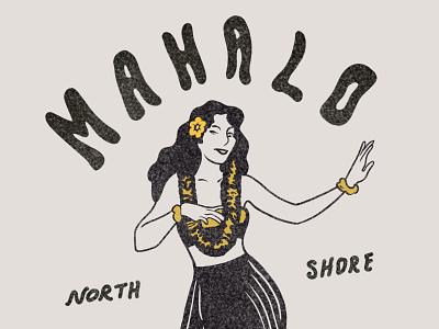 The Sunrise Shack minimal icon branding flat typography design hand drawn hawaii brand design freelance prints illustration design illustrations illustration