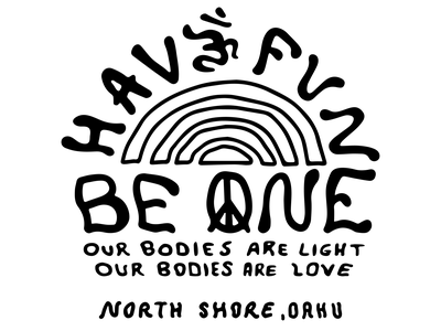 Have Fun Be One - Mantra illustration vector design minimal apparel design icon freelance brand design branding logo
