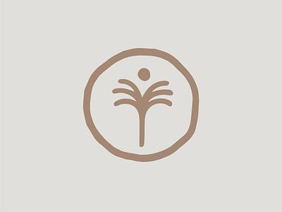 Palmy hawaii logo illustration vector typography freelance brand design branding minimal design