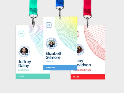 F8 Event Badges