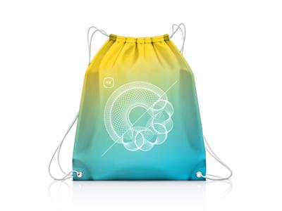 F8 Swag Bag swag bag conference brand f8 gradient design bag