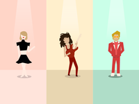 Fun website illustrations