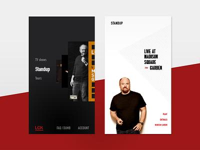 Louis C.K. App android ios app mobile