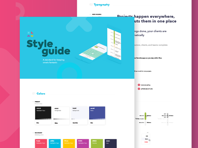 Omelo style guide ui ux style guide web app mobile