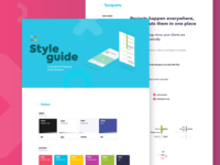 Omelo style guide