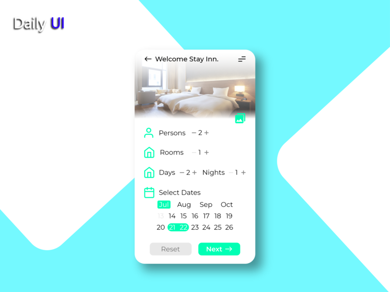 Daily UI #067 | Hotel Booking web hotel booking 067 app ux uidesign ui design daily ui dailyui daily 100 challenge daily