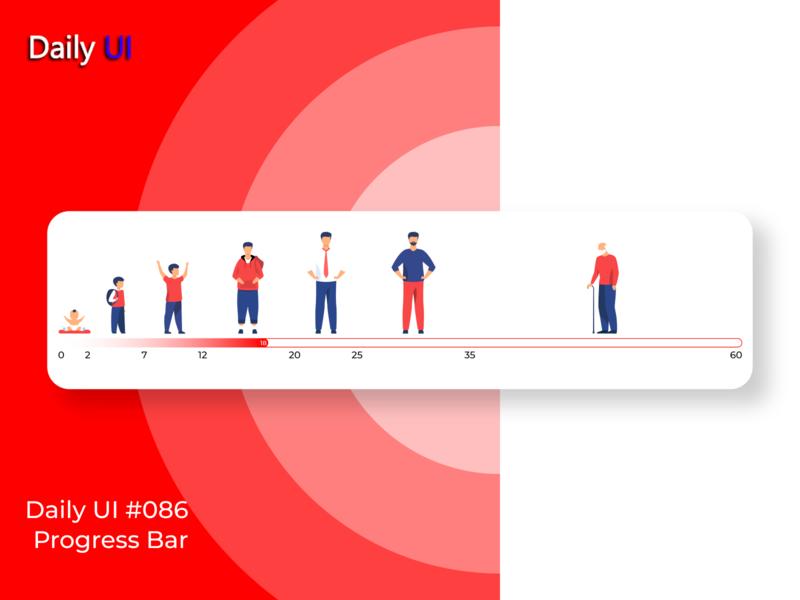 Daily UI #086   Progress Bar web progress bar 086 app uidesign ux ui design daily ui dailyui daily 100 challenge daily