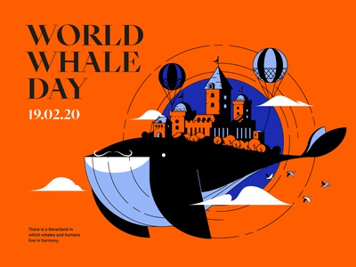 February 19th : World Whale Day