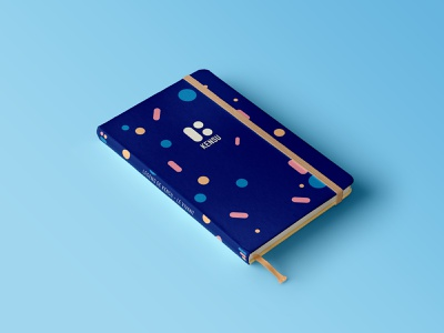 Kensu - Goodies (Notebook) notebook goodie logo brand system branding design