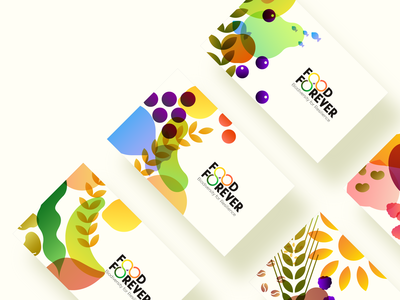 Food Forever - Business cards