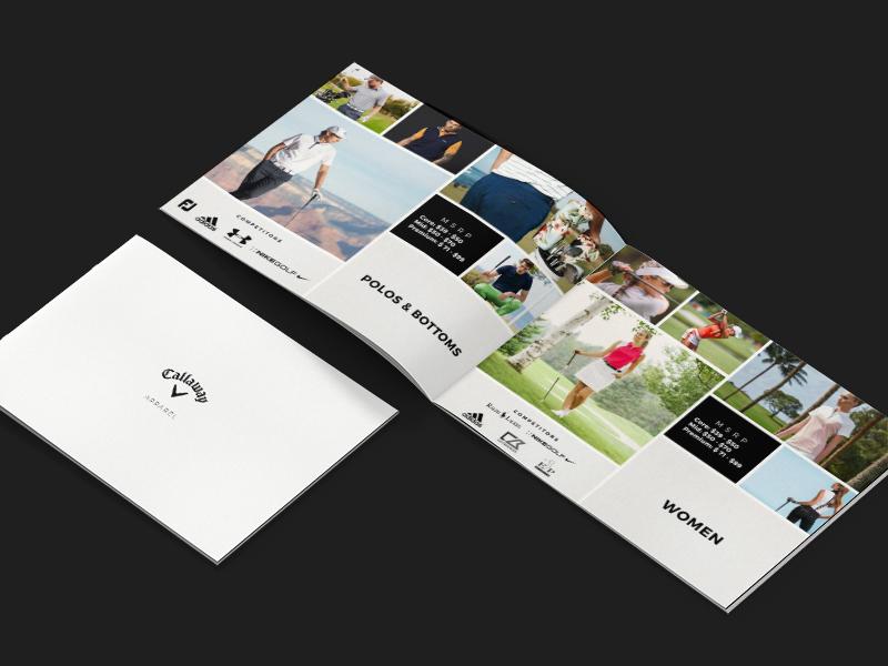 golf apparel presentation brochure by bianca bertocchi for. Black Bedroom Furniture Sets. Home Design Ideas