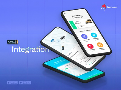 hvv switch App – MOIA Service Integration cellular booyastudio freelance ui design moia hamburg hvv switch hvv mobility